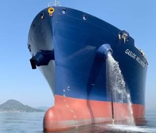 GasLog's LNG newbuild GasLog Wellington delivered