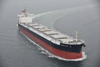 NYK-operated Coal Carrier Sunshine Pride Enters Service for Joban Joint Power