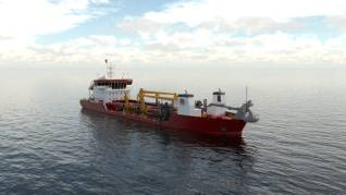 C-Job Naval Architects delivers TSHD design to GLDD