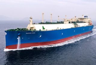 Daewoo Shipbuilding delivers first LNG carrier installed with air lubrication system