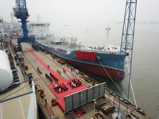 Naming ceremony held of FKAB-designed 11960 DWT stainless steel chemical tanker of Ningshen shipping