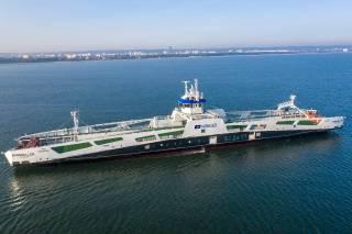 Mannheller - Hybrid Electric Ferry On Sea Trials (Video)