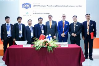 Wärtsilä & CSSC Huangpu Wenchong Shipbuilding Company Limited agree to jointly develop hybrid vessels for the future