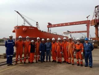 Klaveness' fifth CLEANBU vessel MV Bangus launched at New Yangzi Shipyard