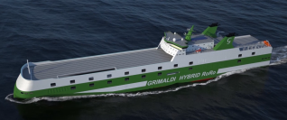 Second G5GG Newbuilding for Grimaldi, ECO BARCELONA, Launched by Jinling Shipyard