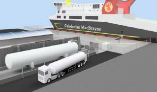 CMAL: Contract awarded for Scotland's First LNG Bunkering Facilities