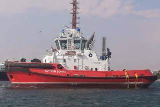 First of three RAstar 2900-SX built by Sanmar for Svitzer SOHAR