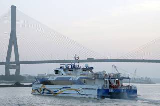 Incat Crowther launch two Incat Crowther 40s for Zhuhai Fast Ferry Company