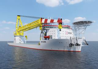 Jan De Nul Group and Huisman join forces for the heavy lift equipment on board of next-generation offshore installation vessels Les Alizés and Voltaire