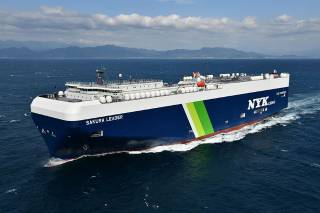 First Japan-built LNG-fueled PCC with FGSS Supplied by Mitsubishi Shipbuilding Has Entered Service