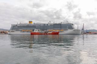 Costa Cruises Completes Italy's First LNG Bunkering Operation