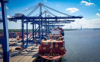 Charleston Stevedoring Company launches at the Port of Charleston
