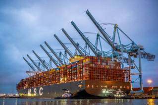 Port of Los Angeles, MSC, APM Terminals and ILWU Set New World Record for Most Cargo Moves During Single Ship Call