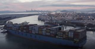 Port of Oakland hybrid electric cranes deliver major emissions savings