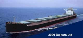 2020 Bulkers Announces Delivery of Bulk Shanghai and Commencement of Charter