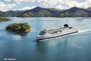 KiwiRail's newbuilding project of two rail-enabled ferries for New Zealand's Cook Strait is on track