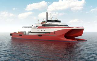 ST Engineering Introduces New LNG Catamaran Ship Design For Offshore Applications