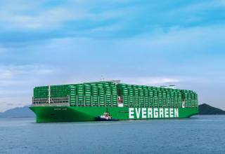 Evergreen's mega container ship Ever Ace with WinGD's large bore X92 bore size engines crossed the Suez Canal