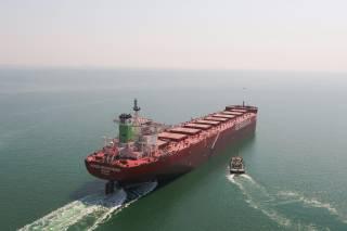 Spotted: Berge Moldoveanu joins Berge Bulk fleet