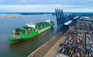 Port of Felixstowe Welcomes World's Largest Container Ship