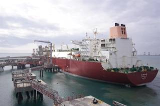 Qatargas-chartered LNG vessel makes first call at India's Ennore terminal