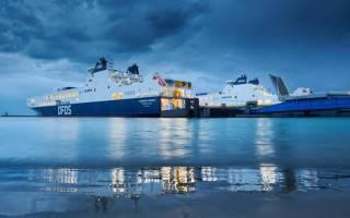 Mv Flandria Seaways Maiden Trip Zeebrugge - Göteborg