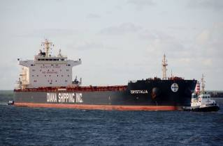 Diana Shipping Announces Time Charter Contract for mv Crystalia with Glencore