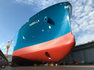 Daewoo Shipbuilding delivers new LNG carrier Isabella to Maran Gas