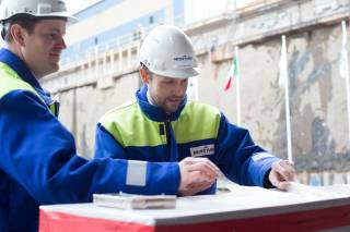 The hull assembly of Costa Toscana begins at Meyer Turku Shipyard