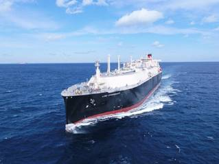 MOL's Newbuilt LNG Carrier LNG Rosenrot Goes into Service for Uniper