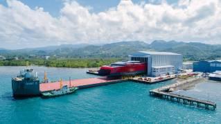 Austal Philippines Launches 109 Metre Catamaran Ferry