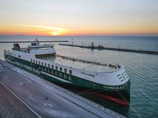 Grimaldi Group's Green Giant Eco Livorno Christened