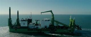 Royal IHC hands over the world's largest and most innovative cutter suction dredger 'SPARTACUS' to DEME