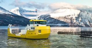 Damen Unveils New Utility Vessel 2613 For Versatile Fish-Farming