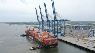 SC Ports opens state-of-the-art Hugh K. Leatherman Terminal