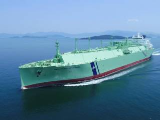 BW takes delivery of ME-GI LNG newbuild