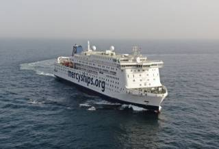 Stena RoRo has delivered the world's largest civilian hospital vessel, the Global Mercy™ for Mercy Ships