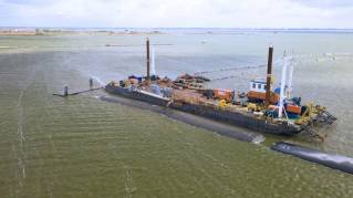 Van Oord successfully applies Atlantis tubes at Fish Migration River project