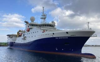 Gibdock services Shearwater survey vessels in testing times