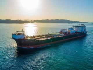 Samsung Heavy Industries delivers Teekay's LNG double fuel propulsion shuttle tanker Aurora Spirit