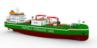 Fratelli Cosulich Orders LNG Bunkering Vessel in China