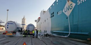 Baleària sets up MTTS LNG bunkering facility in port of Valencia