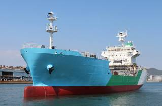 Japan's First LNG Bunkering Vessel Launched — Operations to Begin in Autumn 2020