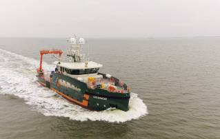 Hydrographic survey vessel Geo Ranger performed Successfully her sea trials