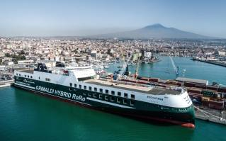 ECO Catania - Grimaldi Group's Fifth Green Giant Christened