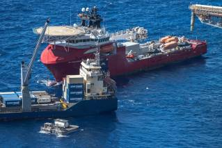 Australian Defence Vessel (ADV) Ocean Protector's Unique Capability Supports Local Christmas Island Community