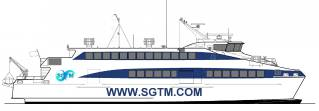 Austal Awarded A$15.5M Contract For A 41 Metre High Speed Catamaran Ferry For SGTM Mauritius