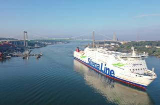 Stena Line achieves another world first using recycled methanol to power the ferry Stena Germanica