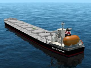 NYK to Build Company's First LNG-Fueled Capesize Bulk Carrier