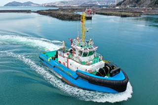 Med Marine Delivers Super Ice Class Tier III Tugboat, Covurlui To A.F.D.J.